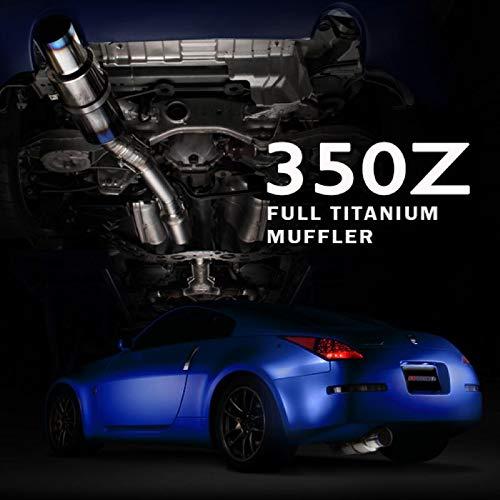 Tomei Expreme Titanium Exhaust System for Nissan 350Z Z33 VQ35DE / VQ35HR