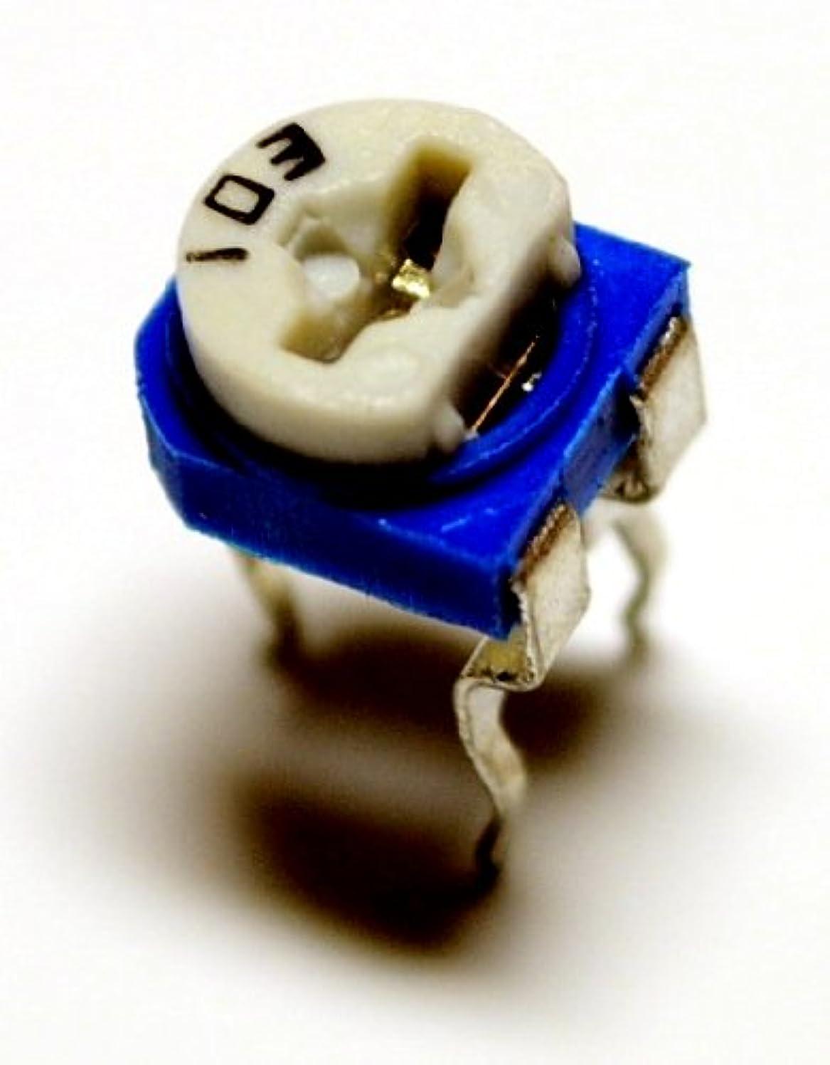 教天才扇動する半固定抵抗器 (半固定ボリューム) セット 100Ω?2MΩ 14種類 各5個 [合計70個]
