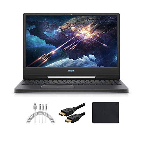 New_Dell_G7 15.6' UHD (3840x2160) OLED 60Hz 400-Nits Gaming Laptop, i9-9880H, RTX 2080 8G GDDR6 with Max-Q, 16GB RAM, 512GB SSD, Backlit Keyboard, 90WHr, 6-Cell Battery, Win 10 w/ Santax Accessories