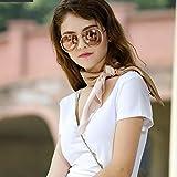Udol Bufanda de Invierno cálido Bufanda cómodo y práctico Degradado de Color de Primavera Bufanda de Seda de la Bufanda de la señora tamaño de la Marca de Toallas de Playa rebozo: 65cm * 65cm j1016