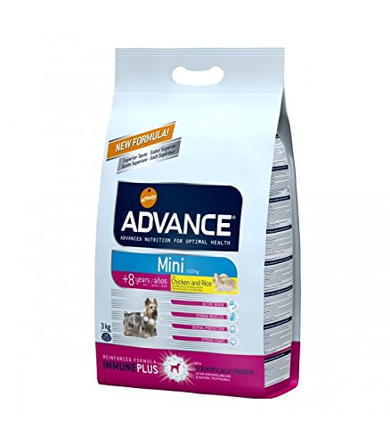 ADVANCE - ADVANCE MINI SENIOR Pollo y arroz - 3 Kg