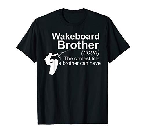 Definition Wakeboard Wakeboarding Wake Board Wakeboarder Fun T-Shirt
