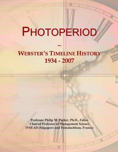 Photoperiod: Webster's Timeline History, 1934 - 2007