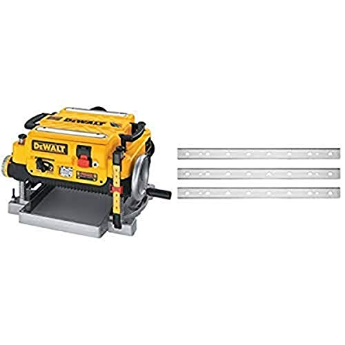 DEWALT DW735 13-Inch Two Speed Thickness Planer with DEWALT DW7352 Replaceable Knives for DW735 13-Inch Planer