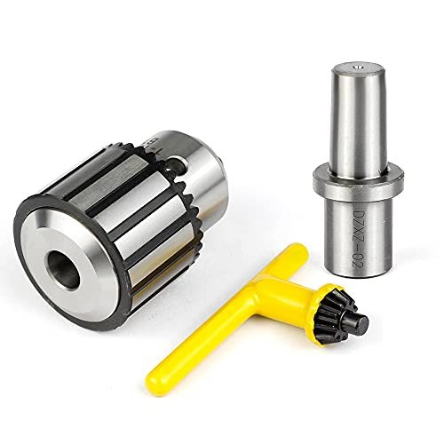 Drill Chuck 5/8 Inch(1-16mm) JESTUOUS 3/4 Inch Weldon Shank Adapter Heavy Duty Key Type chuck Converter Tool for Drill Press