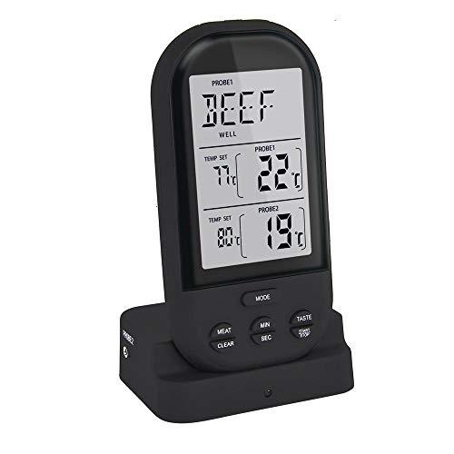 WCJ instant lezen vleesthermometer, waterdicht Ultra Fast Digitaal voedsel koken thermometer, kalibratie voor keuken BBQ