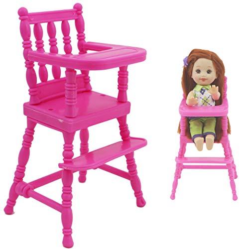Case Cover 1pc Simulation Babyhochstuhl, Puppe Möbel Spielzeug Für 01.12 Baby Zubehör