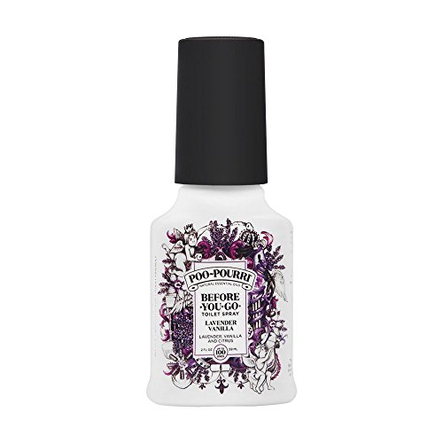Poo-Pourri Before-You-Go Toilet Spray, Lavender Vanilla Scent, 2 Fl Oz