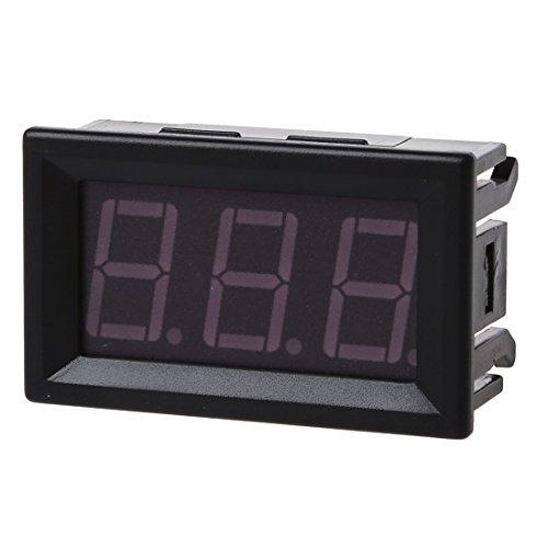 Preisvergleich Produktbild TOOGOO(R) DC 0-99.9V 3 Wire LED Digital Display Panel Volt Meter Voltage Voltmeter Car Motor - GREEN