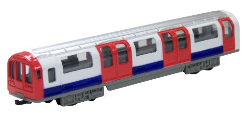 TOYLAND Richmond Toys Motormax 6-inch Traditional London Underground Tube Train Die-Cast Collector Edition 1:100 Scale Approx