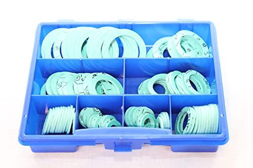 KLINGERSIL C-4400 Sortimentskasten Dichtungen 80 Teile Verschraubung Sanitär KTW