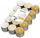 Bolsius 30 Tealights +/-4h, 3 Colori, Fragranza Vaniglia