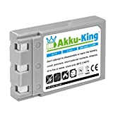 Akku-King Akku kompatibel mit Konica DR-LB4 - Li-Ion 900mAh - für Revio KD-310, KD-310Z, KD-400Z, KD-410Z, KD-420Z, KD-500Z, KD-510Z