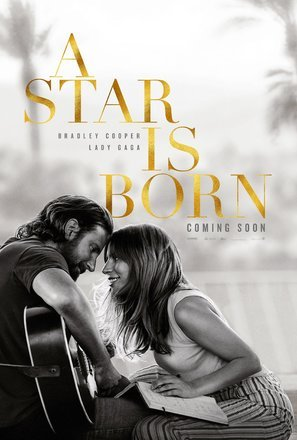 A Star is Born – Bradley Cooper – U.S Movie Wall Poster Print - 30cm x 43cm / 12 inches x 17 inches