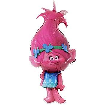 1 x Trolls Poppy Globo de láminas Forma 43