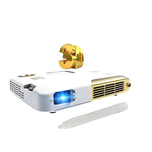 AI LIFE Proyector Interactivo 3D 1080p Proyector Educativo Educación DLP 4K Mini proyector TV LED Proyector Inteligente para Fiestas de Juegos de Entretenimiento de Cine en casa