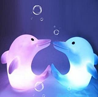 Domire Color Changing LED Night Light Dolphin by Domire