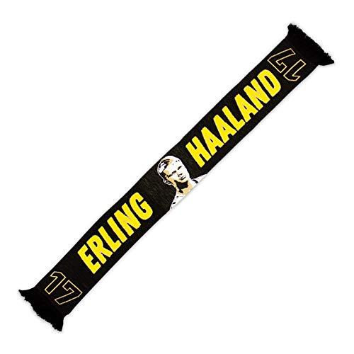 Borussia Dortmund, BVB-Schal Erling Haaland, Schwarz, 0