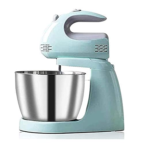 YQG Batidor de sobremesa eléctrico Mini Crema Batida de Clara de Huevo y Mezclador de Fideos para Hornear Pasteles, Gran Capacidad 3L
