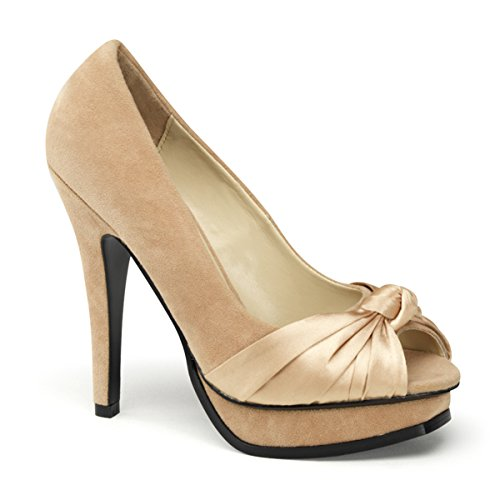 Pin Up Couture, dames pumps beige champagne