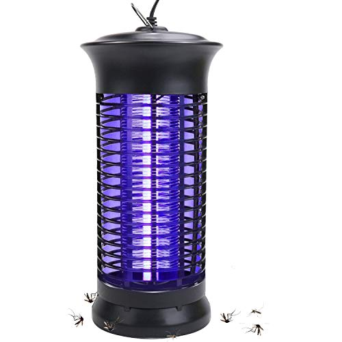 Bug Zapper Electric Indoor Insect Killer suspensible UV Light | Mosquito Killer Bug Fly Pests Attractant Trap Zapper Lamp w/Powerful 1000V Grid for Indoor Home Bedroom,Kitchen, Office