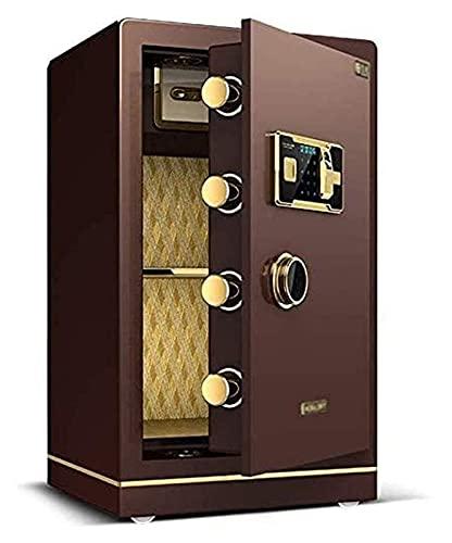 Caja fuerte de diseño para el hogar, cajas fuertes para el hogar, cajas de seguridad para dinero, cajas fuertes para el hogar Caja fuerte electrónica para el hogar con contraseña mediana para huellas
