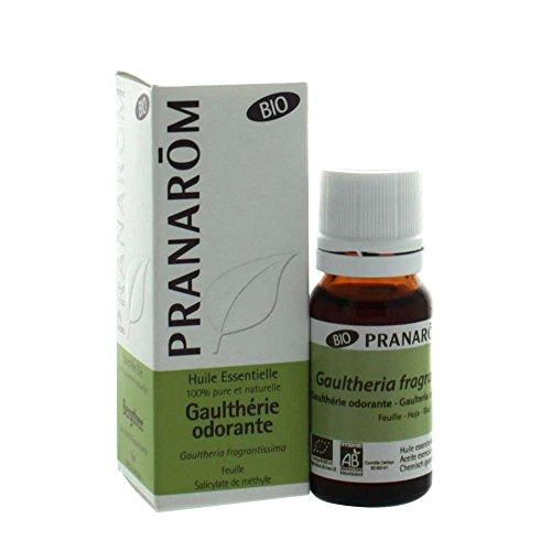 Pranarôm - Aceite esencial de Gaulteria Olorosa Bio - Hoja - 10 ml