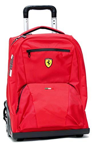 Zaino Trolley Premium Rosso Ferrari Kids