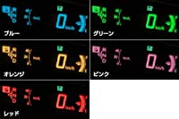 SilkBlaze 【30プリウス】 スピードメーターフィルム 【ピンク】 PR-SMF-PIN-S