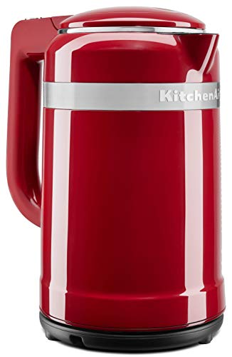 KitchenAid KEK1565ER Electric Kettle, 1.5 Liter, Empire Red