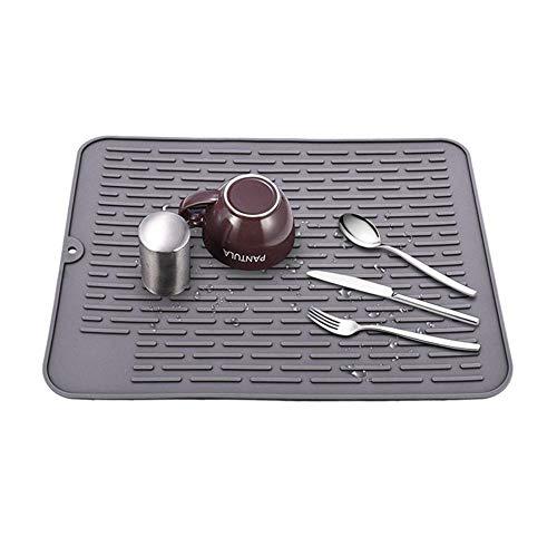 Küchen Silikon Pad Geschirrtrocknungsmatte 30 X 40cm Isolierung Pad Küchentheke Spülbecken Pad Wasserfilter Pad Trocknen Pad Für Küchenarbeitsplatten Maschinenwäsche