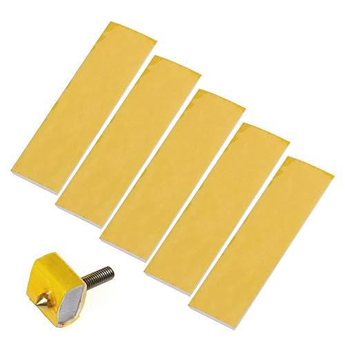 UEETEK 20pcs 3mm Heizblock Baumwolle Isolierung Düse Wärmeisolierung 3D-Drucker-Zubehör