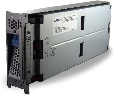 RBC43-UPC Replacement Battery for APC DLA2200, DLA3000, SMT2200, SMT3000, (2) SUM48RMXLBP2U, SUA3000, SUA2200, SUM1500, SUM3000