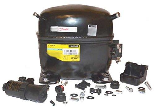 Verdichter Kompressor Danfoss Secop SC15GH, SC15GHX