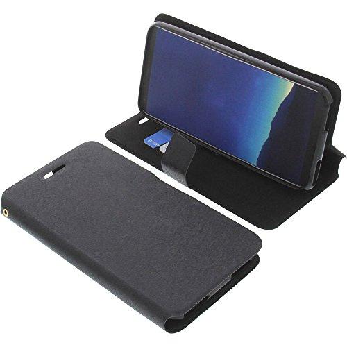 foto-kontor Tasche für Cubot R11 Book Style schwarz Schutz Hülle Buch