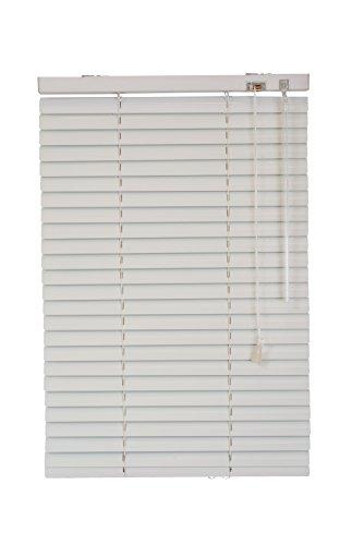 Sunlines HWA20009 Klemmfix-Jalousie Fixmaß, Metall, weiß, 140 x 150 cm