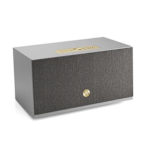 Altavoz Inalámbrico Multisala con Conexión Bluetooth y WiFi - Speaker Multiroom Potente y Portátil Compatible con AirPlay 2 y Google Cast - Audio Pro Addon C10 MKII - Gris