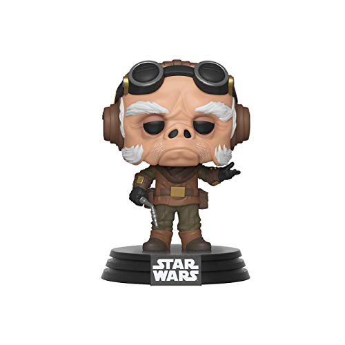Funko - Pop! Bobble Vinyle: Star Wars The Mandalorian - Kuiil Figura Coleccionable, Multicolor (42063)