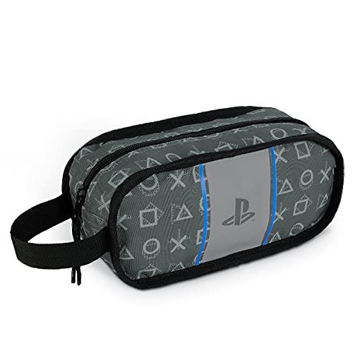 PlayStation Neceser Niño 22 cm, Bolsa Aseo Niño Escolar, Regalo para Gamers