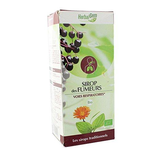 HerbalGem Sirop des Fumeurs Bio 150 ml