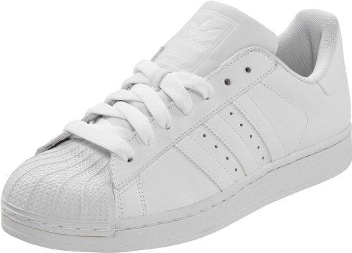 adidas Originals Men's Superstar Shoe Running White, ((18 M US)