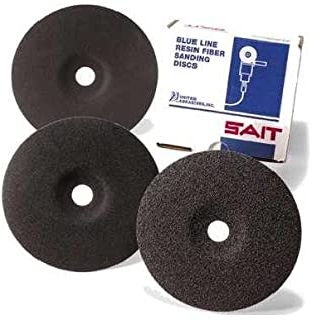 United Abrasives- SAIT 59960 Z 9 x 7/8-Inch 60 Grit Zirconium Fiber Disc, 25-Pack