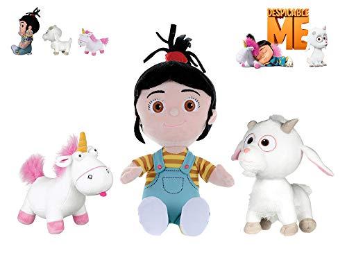 MNNS Minions - Pack mit 3 plüsch Agnes 11'02