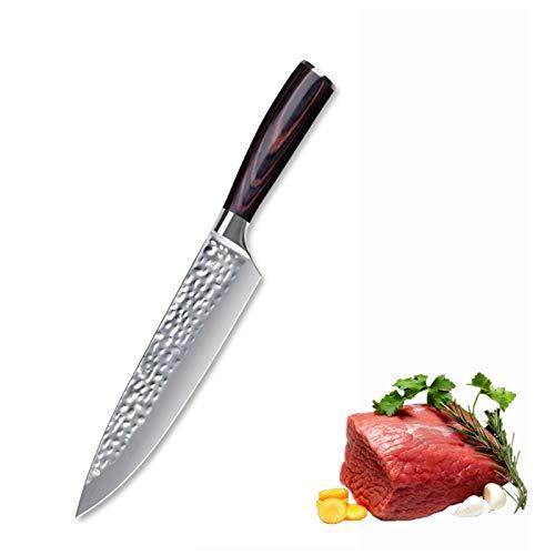 cuchillo de chef CUCHILLO DE CHEF DE DAMASCO 7CR17 Cuchillo de cocción de acero inoxidable Sushi Cuchillo de corte de 8 pulgadas Cuchillo de chef de 8 pulgadas Plato lateral de 7 pulgadas Cuchillo par