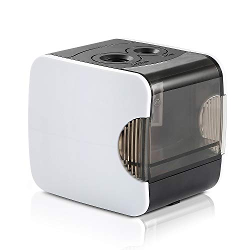 Electric Pencil Sharpener, CyanCloud Double Hole Rechargeable Automatic Pencil...