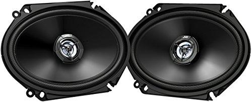 JVC CS-DR6820-Altavoces para Coche, Color Negro