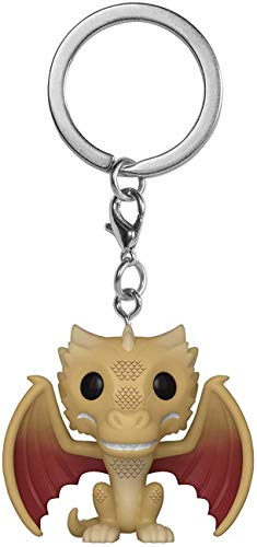 LAST LEVEL- Keychain Pocket Llavero Pop Juego DE Tronos VISERION, Multicolor (Funko 1)