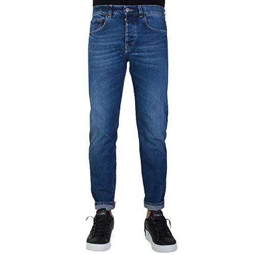 Haikure Jeans Uomo Slim Tokyo Crop Denim Medio 32