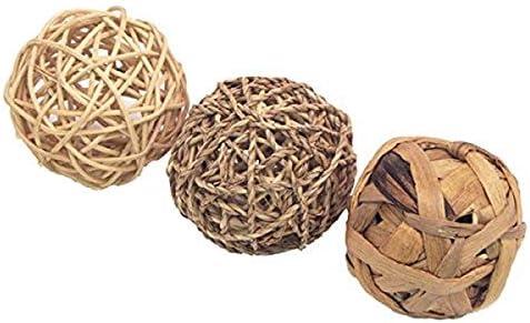 Rosewood Boredom Breaker Small Animal Activity Toy Trio of Fun Balls, Medium