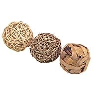 made from 100% natural materials, no glue, plastic or metal fun to chew and helps prevent boredom by stimulating pets extra deep base for deep filling with litter so pets can tunnel and burrow made from natural seagrass, water hyacinth and rattan 3x ...